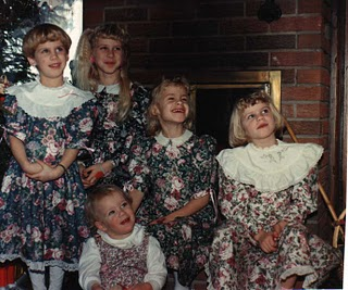 It's a Five Blondes Christmas!